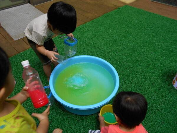 DSCN2480 600x450 - 色水あそび☆